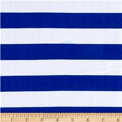Ponte de Roma Stripe Royal/White