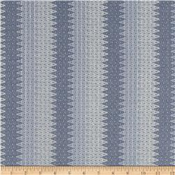 Stretch Stella Knit Chevron Blue