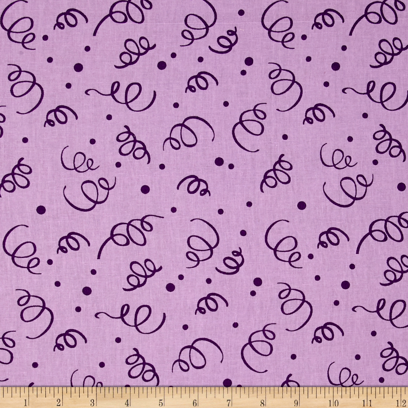 110'' Wide Quilt Back Fiesta Purple Fabric by Westrade in USA