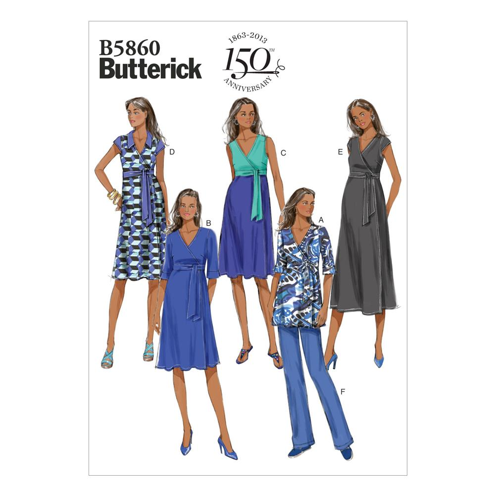 Butterick Misses' Maternity Top, Dress and Pants Pattern