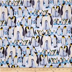Kanvas The Great North Wilderness Flannel Penguin Parade