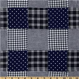 Nantucket Plaid Patchwork Navy
