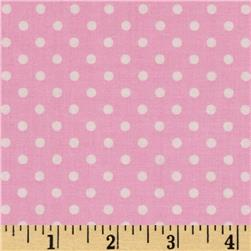Dream A Little Dream Dots Sweet Pink Fabric