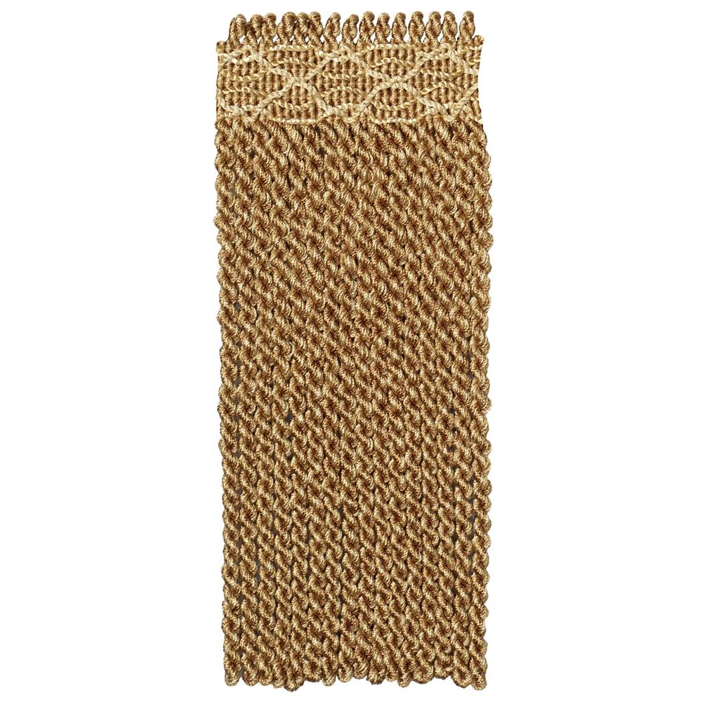 "Fabricut 9"" Anglaise Bullion Fringe Antique/Bronze"