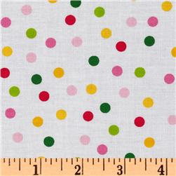 Remix Polka Dots Garden Fabric