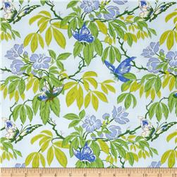 April Cornell Glorious Garden Butterfly Light Blue