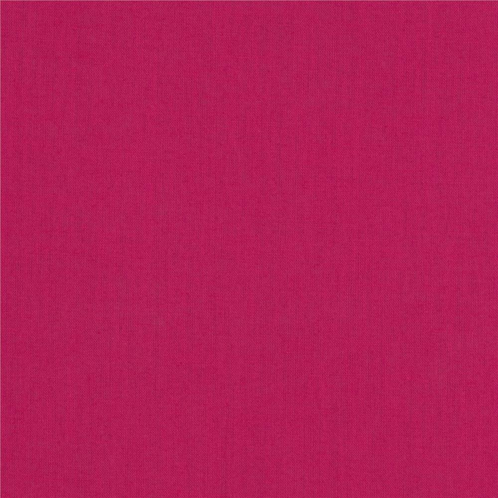 Cotton Voile Solid Fuchsia