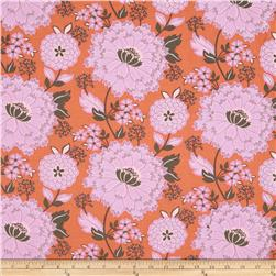 Turkish Delight Delightful Floral Coral