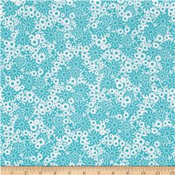 Baby Talk Bathtime Bubbles Teal/White
