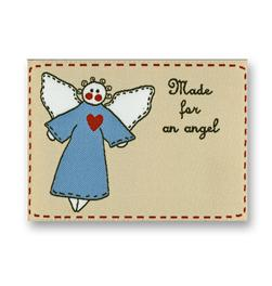 JHB Woven Label Made For An Angel (6435)
