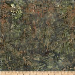 Indonesian Batiks Grid Green