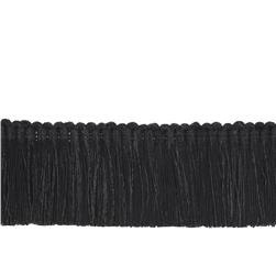 "Trend 2"" 02868 Brush Fringe Black"