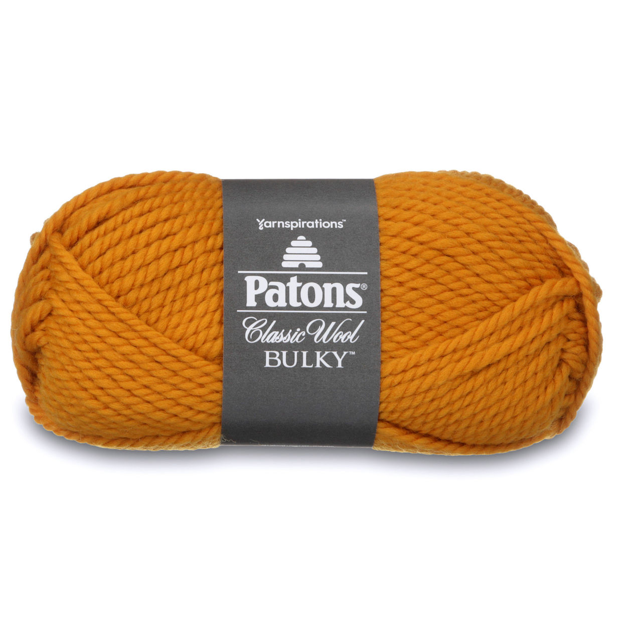 Patons Classic Wool Bulky Yarn (89610) Gold by LP Spinrite in USA