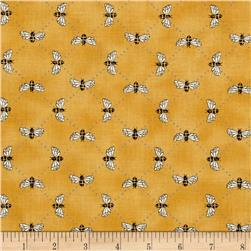 Moda Bee Inspired Bumblebee Lattice Honey Yellow