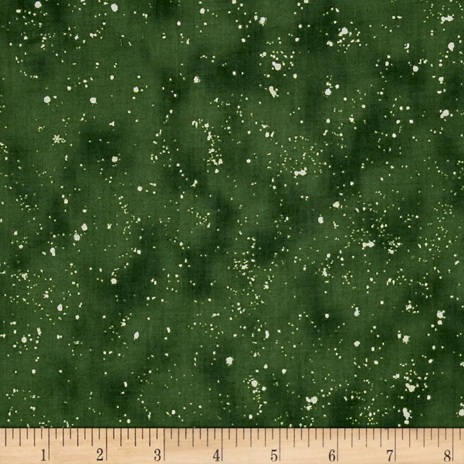 Retro Santa Tonal Speckles Forest
