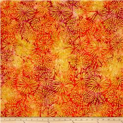Benartex Balis Batik Color Pop Dahlia Tropical Punch