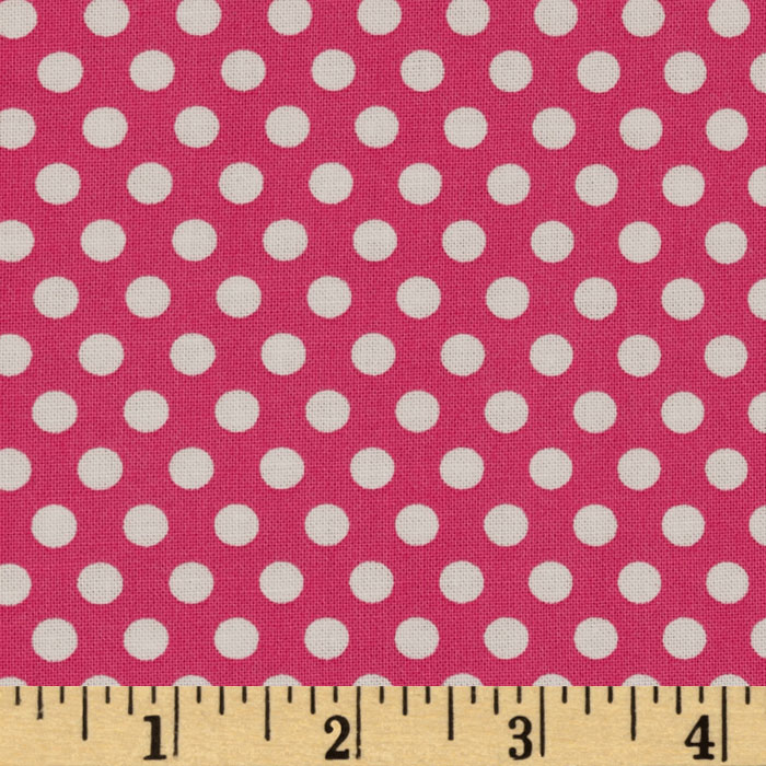 Michael Miller Butterfly Kisses Kiss Dot Blossom Fabric