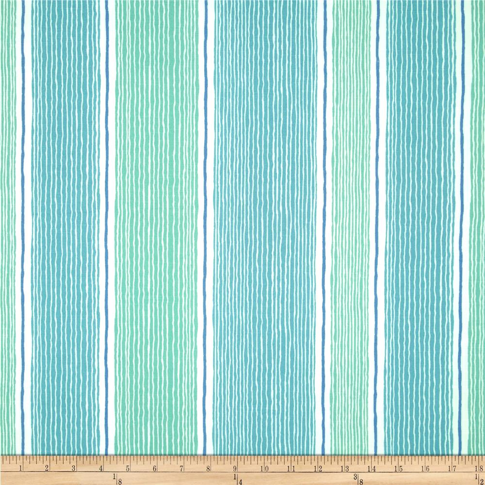 Robert Allen Promo Wish Again Stripe Seaspray