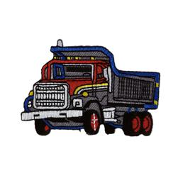 Truck Applique Grey