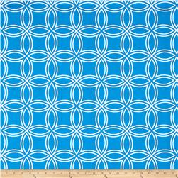 Largo Acrylic Indoor/Outdoor Circles Blue