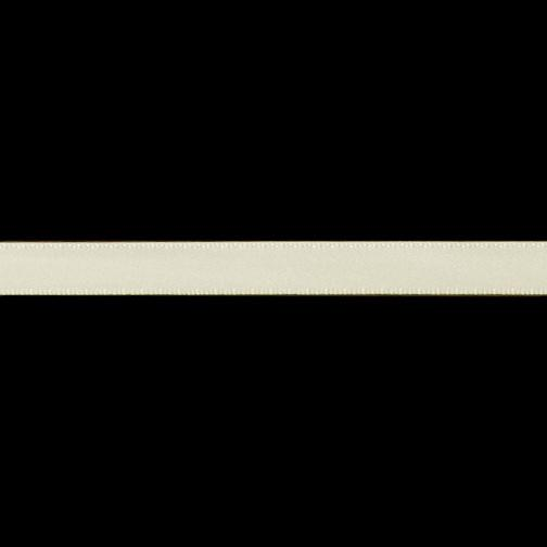 3/8'' Double-sided Satin Ribbon Ivory