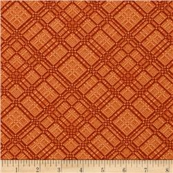 Shades Apart Plaid Terracotta
