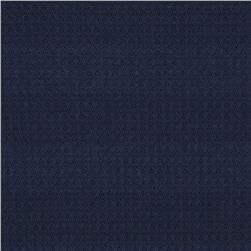 Thermal Knit Shadow Stripe Navy