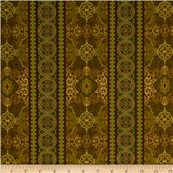 Regency Stripe Chocolate
