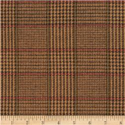 Penny Rose Menswear Flannel  Plaid Brown