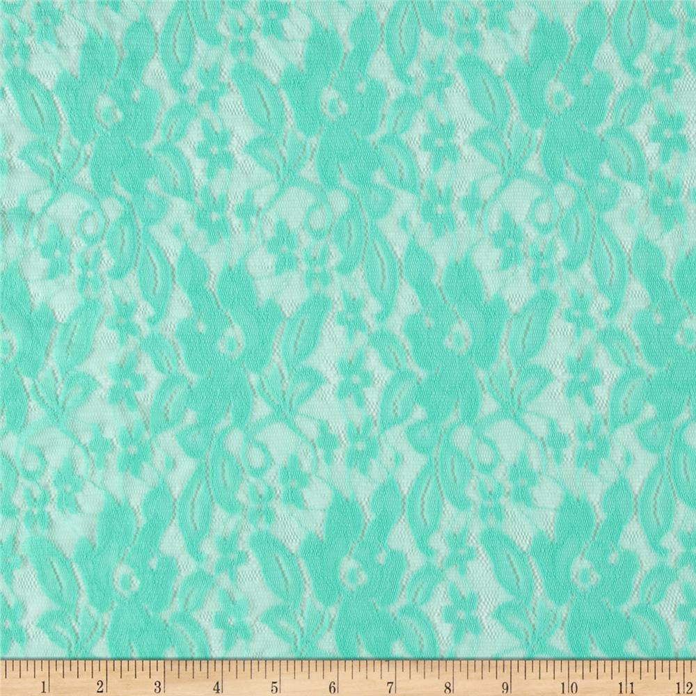 Traditional Stretch Lace Mint