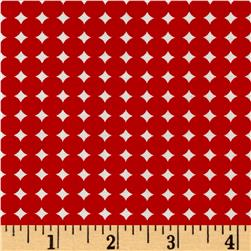 Moda Hey Dot Starry Dot Red