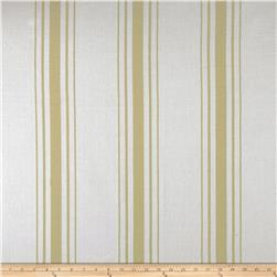 Laura & Kiran Harbor Stripe Tan on White