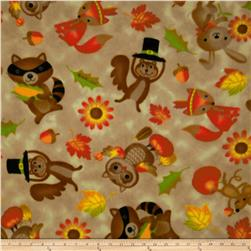 Thankful Animals Fleece Cream