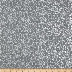 Pearle Silver Opalescent Scroll Pewter