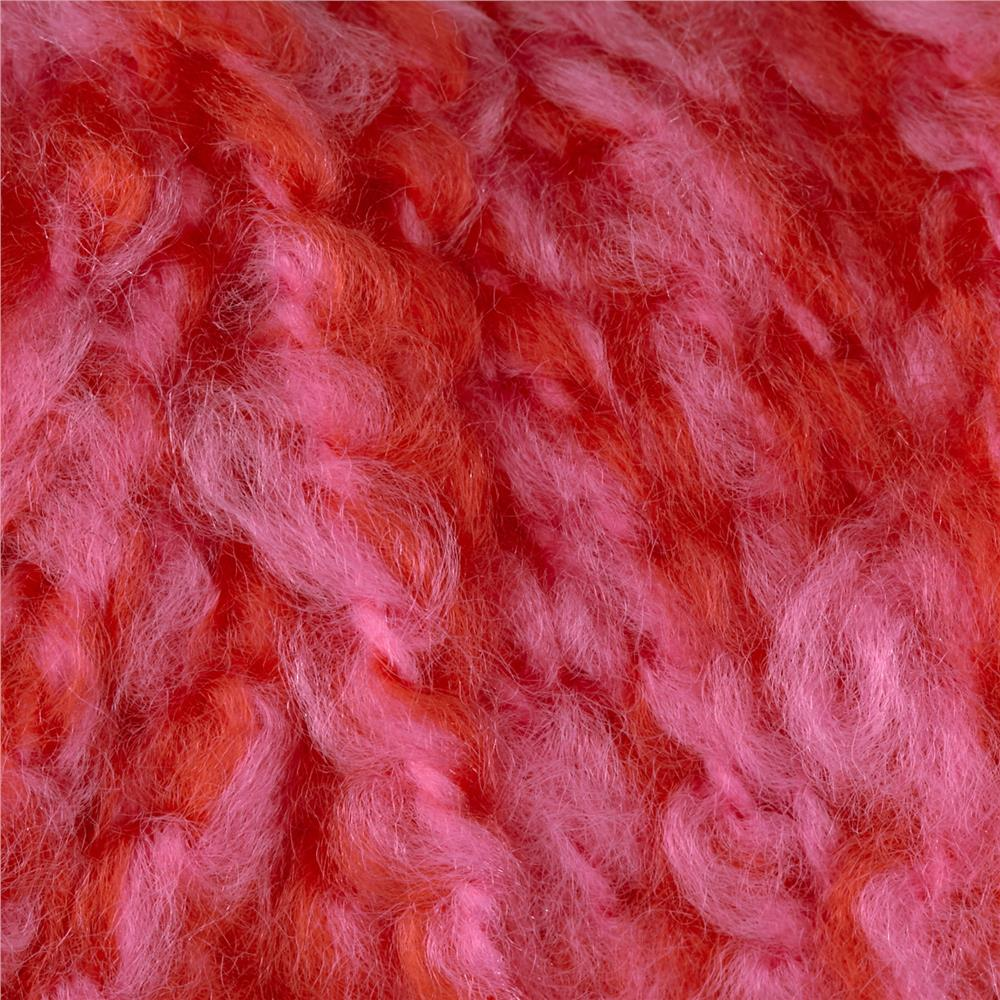 Red Heart Baby Clouds Yarn Pink Punch