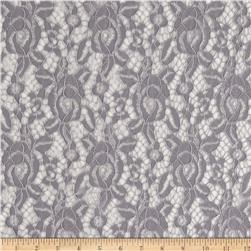 Camellia Lace Solid Grey