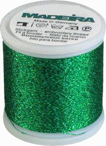 Madeira Supertwist Metallic Evergreen