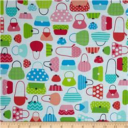 Robert Kaufman This and That Purses Spring