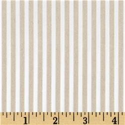 Telio Morocco Blues Stretch Poplin Beige/ White