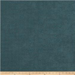 Fabricut Perforated Faux Suede Teal