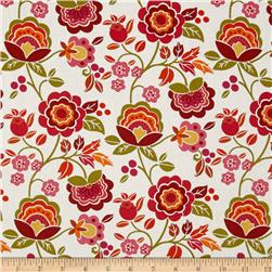 Intrigue Floral Garden Pink/White