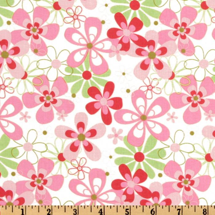 Michael Miller Contemporary Florals Nearby Floral Candy