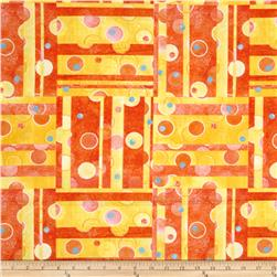 The Garden Club Patchwork Yellow/Orange