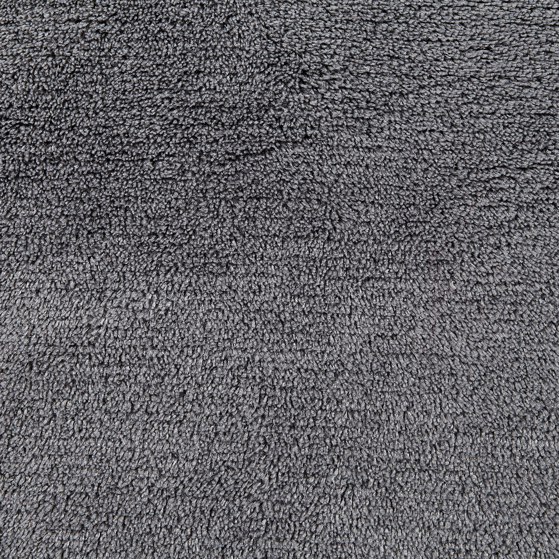 Whisper Coral Fleece Solid Grey Fabric by Newcastle in USA