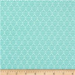 Songbird Small Damask Aqua