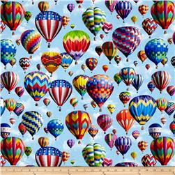 American Byways Digiatl Print Hot Air Balloons Sky