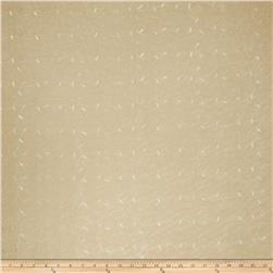 Fabricut Roenick Embroidered Sheer Sand