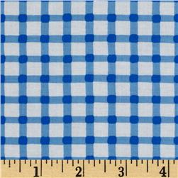 Timeless Treasures Geometric/Abstract Coordinates Gingham Blue