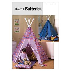 Butterick Teepee and Mat Pattern B4251 Size OSZ