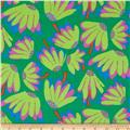 Kaffe Fassett Spring 2014 Collective Meadow Lazy Daisy Emerald